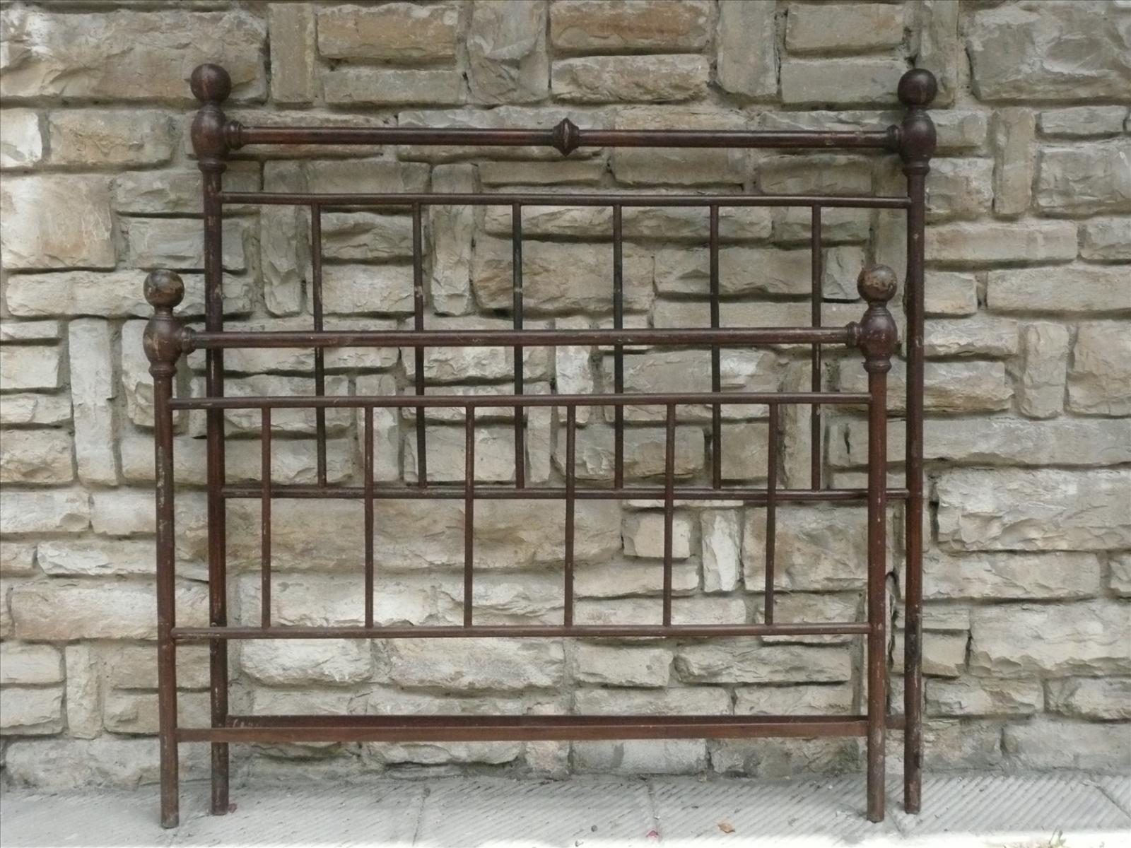 Letti In Ferro Vintage : Corydon italia letto in ferro battuto arredi vintage